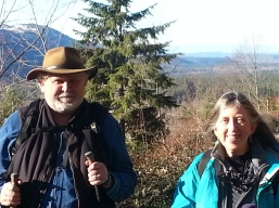 Diane and Chuck, Dyno Hike 1-2016
