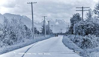 Stevens Pass Highway Near Sultan, WA 1934