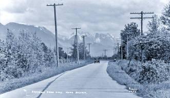Stevens Pass Highway Near Sultan, WA 1934
