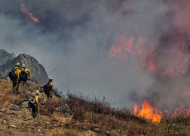 Fire and fire fighters 2018, courtesy DNR